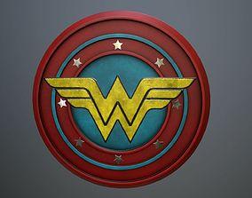 Logo Wonder Women 3D model