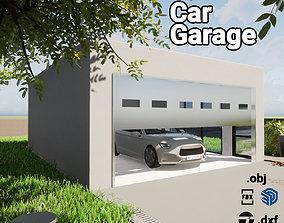 3D model house Simple Garage