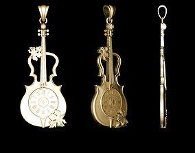 Violin Pendants 3D print model