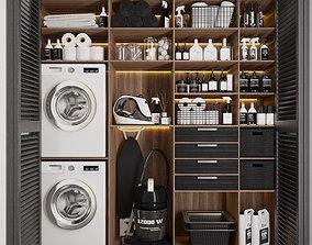 3D asset laundry room 001