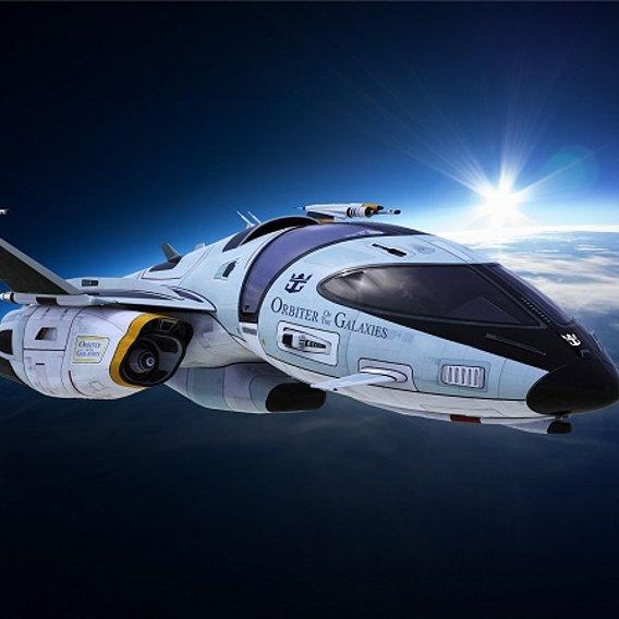 spaceship3dmodelblender2.81aEeveerender