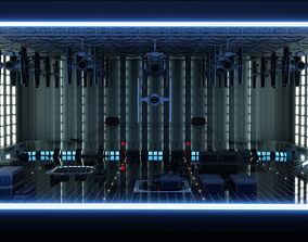 Imperial Star Destroyer Hangar 3D