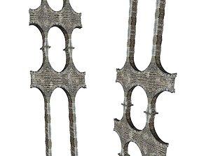 Gatehouse 01 Aqueduct Circle Pillar 05 3D model low-poly