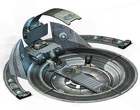 Battleship-console 3D model