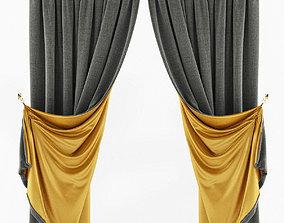 Curtains 2 sides 3D