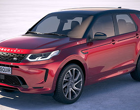 Land Rover Discovery Sport 2020 3D