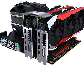 Computer Assembly 2017 3D ti