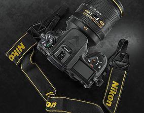 3D Nikon D7100 Camera Body