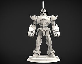 Majin Buu Gundam 3D print model