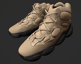 3D model YEEZY 500 High - Shale Warm - Kanye West -