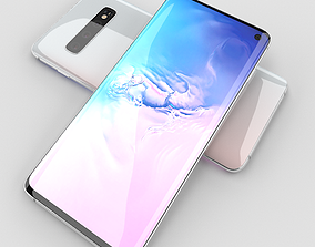 Samsung Galaxy S10 3D model game-ready