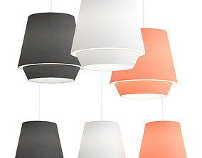 3D model Zero Elements XL ceiling lamp