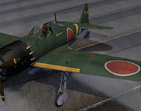 3D Mitsubishi A6M5 Zero - aka Zeke