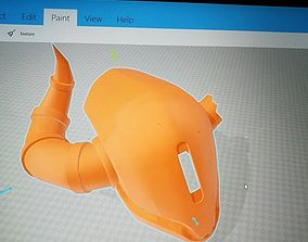 3D printable model Destiny Lord Shaxx Helmet titan