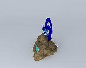 3D Aquatica Front Sign