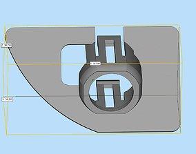 Parking sensor bracket for Audi Q5 rear 3D printable model