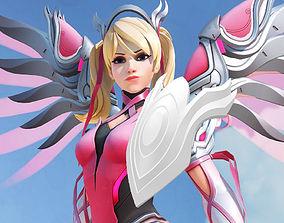 3D print model Overwatch Mercy Pink Hand Guard