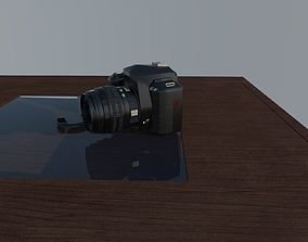 camera 3D model animated