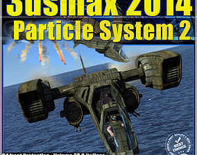 animated 3ds max 2014 Particle System 2 volume 38 2