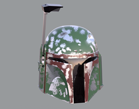 Boba Fett Helmet Mandalorian version 3D print model