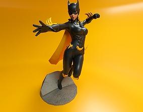 Bat girl 3D print model printing3d