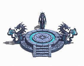 City Center Decoration - Dragon Altar 3D