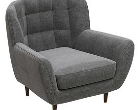 Deephouse Toskana armchair 3D model