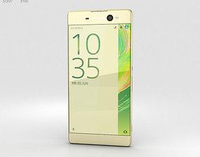 3D Sony Xperia XA Ultra Lime Gold