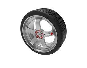 Nismo wheel 3D printable model