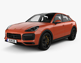 2021 3D Porsche Cayenne GTS coupe 2020
