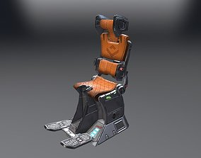3D asset Pilot Seat
