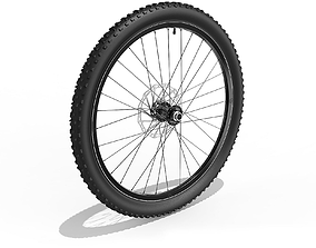 Bicycle Front Wheel 27-5 inch 3D