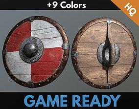 3D asset Medieval Viking Shield