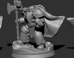 Black Knights - Command Group 3D printable model