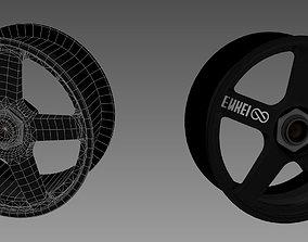 Enkei Evo race car alloy 3D asset