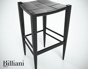 3D Billiani Vincent VG stool 445 black
