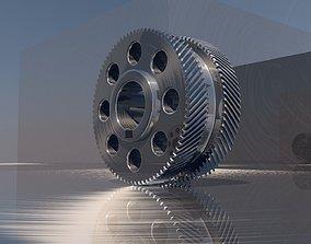 Double Helical Gear 3D print model