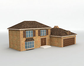 House 7 3D model low-poly