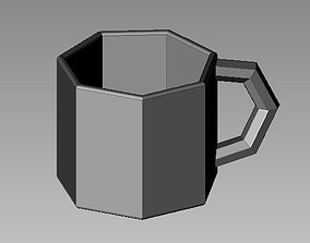 coffee cup 3D printable model