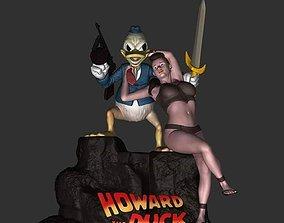 Howard the Duck Fan Art 3D printable model