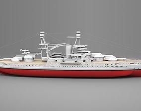 watercraft Watercraft 1 - Arizona Ship 3D model
