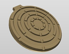 3D print model QI WIRELESS CHARGER STYLE 5