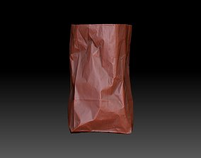 Paper Shopping Bag 3D model