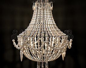 3D model Mud Beaded Chandelier
