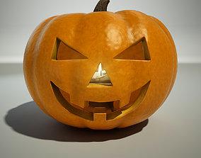 character Halloween Pumpkin 3D model