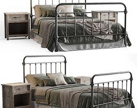inspire marcie bed 3D model
