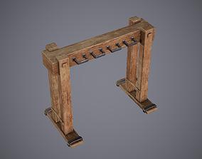 Medieval Rack 1 3D asset