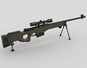 3D model AWP Sniper Rifle