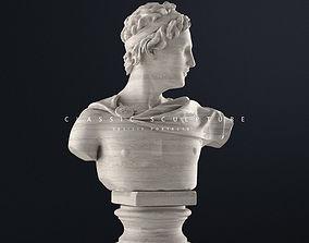 3D printable model Male bust sculpture