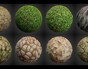 3D Stylized Summer Forest Materials